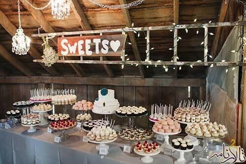 شیرینی عروسی: بهترین شیرینی عروسی و ۱۰ مدل کاپ کیک عروسی