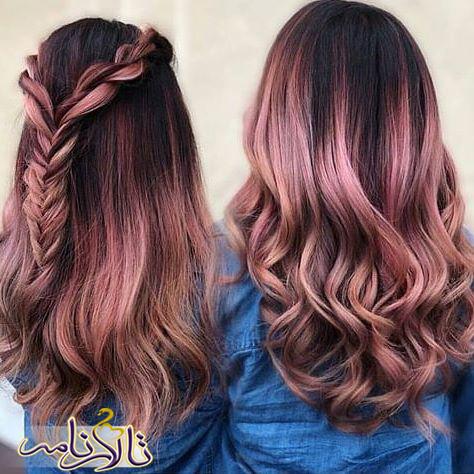 رنگ موی مناسب شما_نحوه پاک کردن رنگ مو