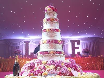 ده مدل کیک برای مراسم عروسی