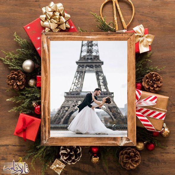 ۵ ایده عروسی به سبک کریسمس