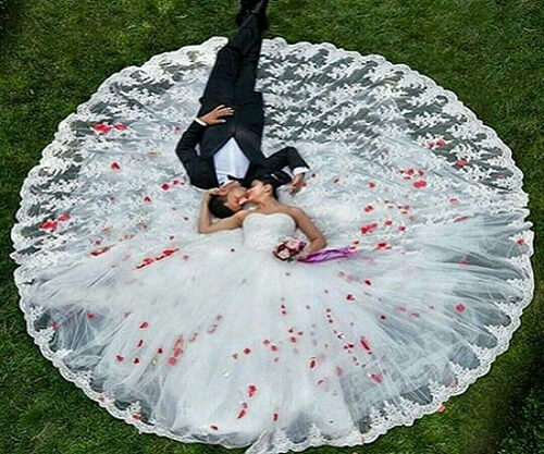 تالار عروسی – جملات زیبای عروس و داماد در روز عروسی